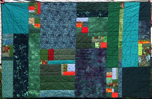 green quilt :: grønt teppe #5