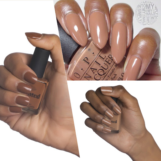 9 Nude Nail Polishes for Autumn | DDS Magazine | Divine Dark Skin