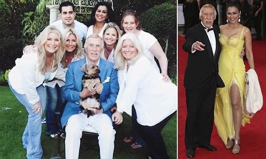 Bruce Forsyth leaves fortune to widow but nothing to children