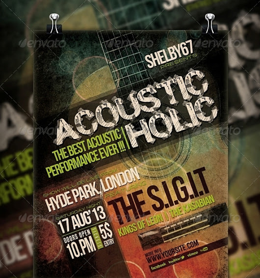 Download Acoustic Event Flyer