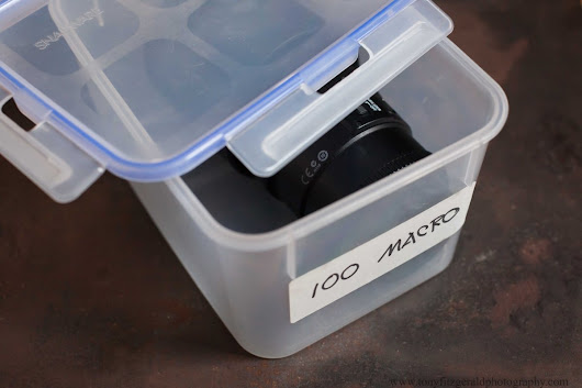 5 Great tips for photo equipment storage