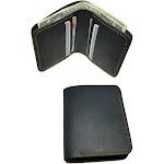 Walleteras Crazy Horse Leather Bifold Wallet