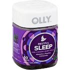 Olly Restful Sleep Melatonin Vitamin Gummies, Blackberry Zen - 50 count
