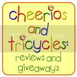 Cheerios and Tricycles: Reviews and Giveaways