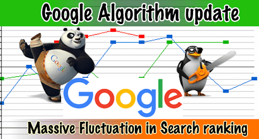 Massive Google Algorithm Update, Substantial Fluctuation in Search Engine Ranking - Cool Stuff Blog : Indie blogger