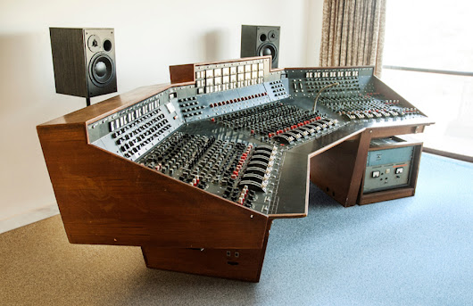 Pink Floyd's Dark Side Of The Moon recording console to be sold at auction