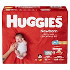Kimberly Clark Huggies Plus Diapers Newborn Skin Care Essentials Kit