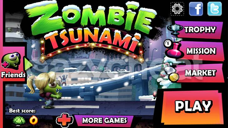 Zombie Tsunami 3.7.0 cheat