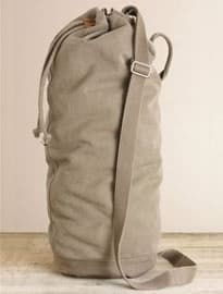Next Khaki Canvas Duffle Bag