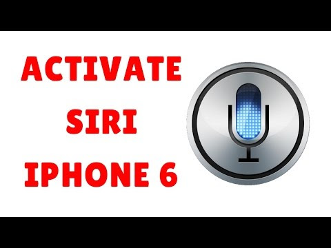 How to Activate SIRI on iPhone 6?