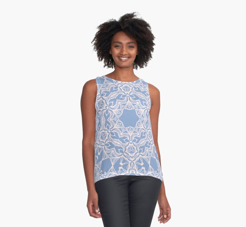 http://www.redbubble.com/people/torriphoto/works/23621568-abstract-arabesque-ornament-in-rose-quartz-and-serenity-blue?p=contrast-tank&style=contrast-tank&body_color=white&asc=u