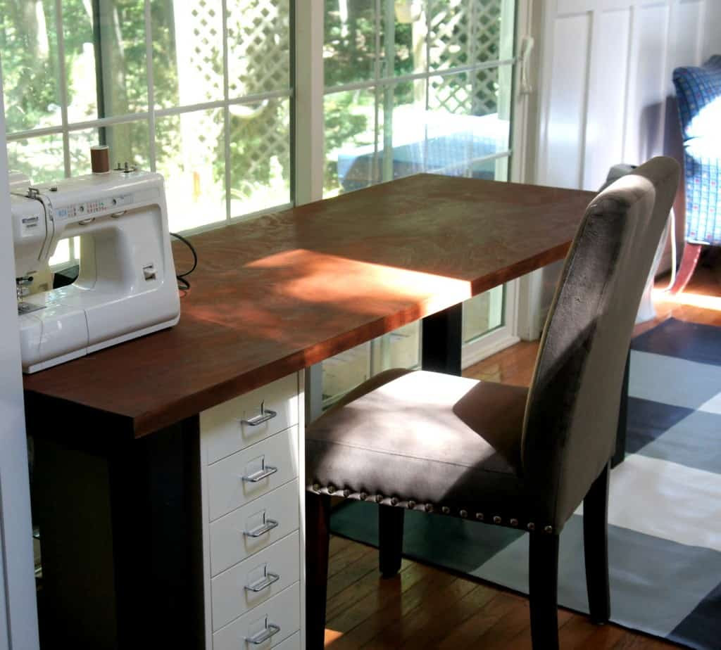Building Hard-Working Work Tables - semigloss design