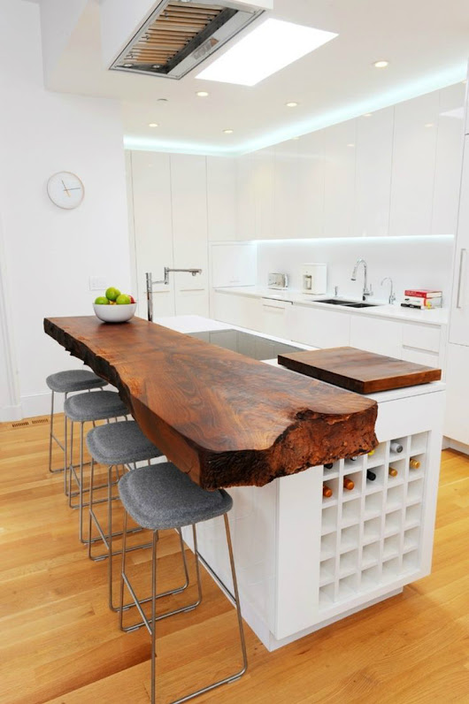 44 Reclaimed Wood Rustic Countertop Ideas - Decoholic