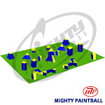 Mighty Paintball UMP-TN-5MAN MP Paintball Bunker Package - 5 Man Tourney Field