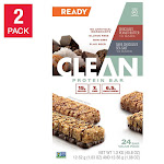 Ready Protein Bar, Chocolate Peanut Butter and Sea Salt, 24-count, 2 pack