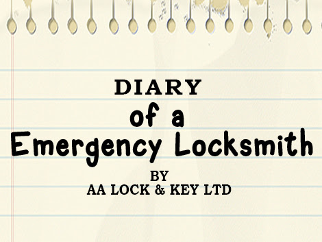 Diary of a Emergency Locksmith - with AA Lock & Key Ltd