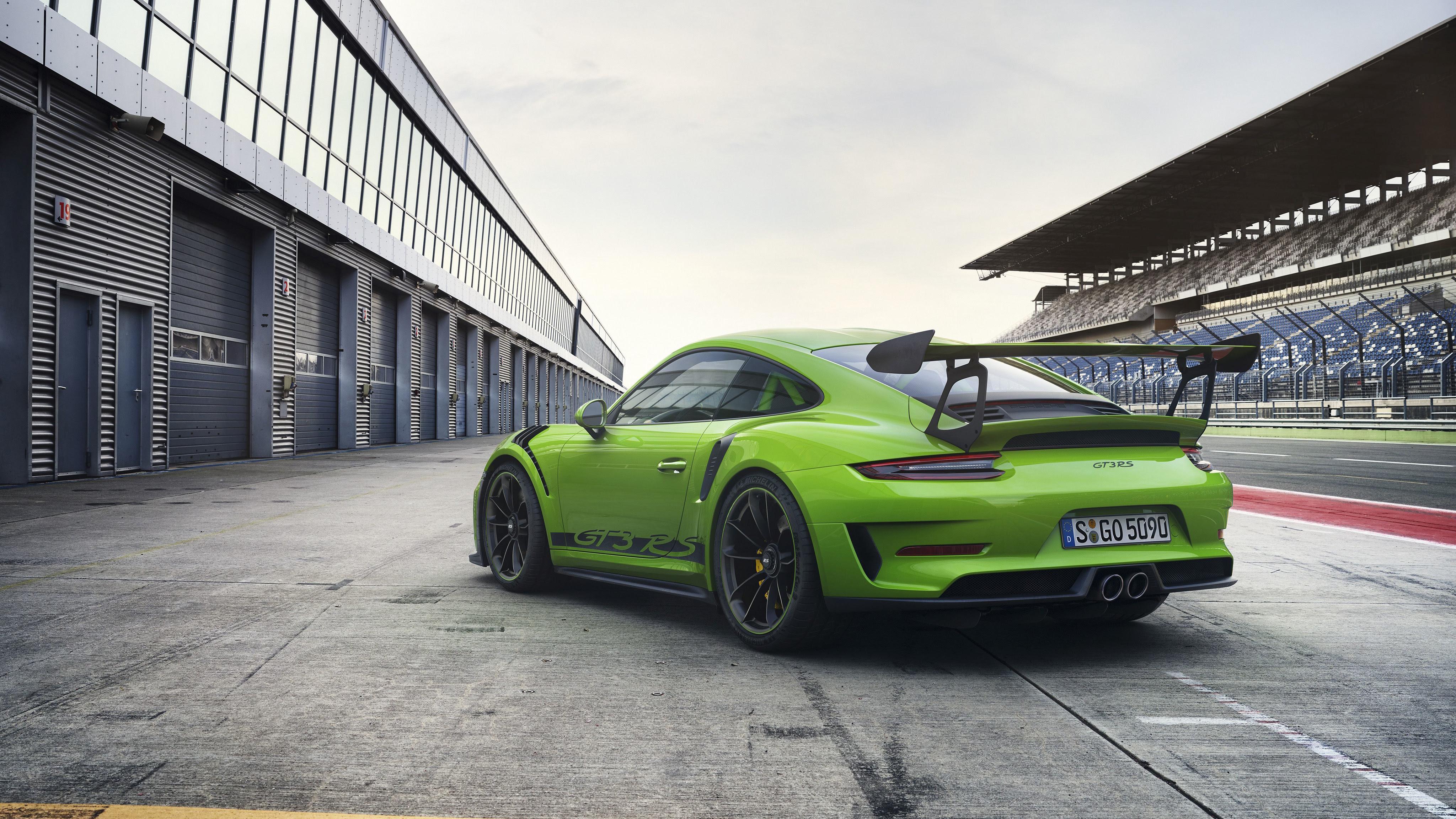 2018 Porsche 911 GT3 RS 4K 4 Wallpaper   HD Car Wallpapers ...