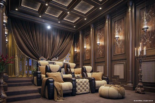 Latest Home Design Trends: Home Theaters Luxury