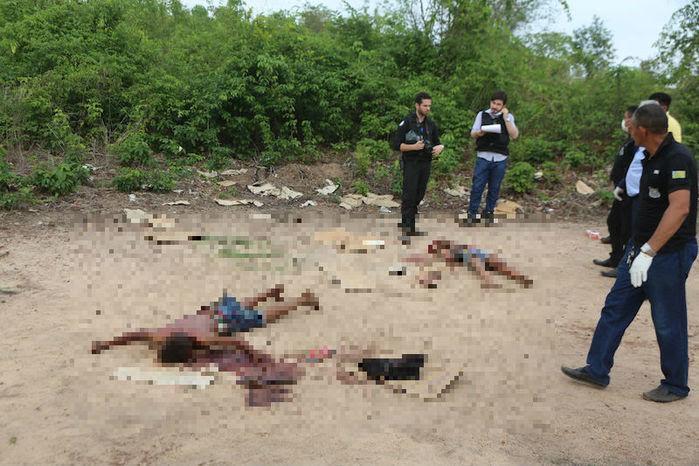 Casal de adolescentes é assassinado com mais de 40 facadas em THE (Crédito: Efrem Ribeiro)