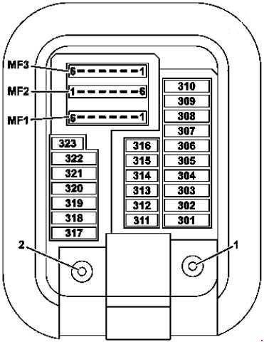 15 18 Mercedes C Class W205 Fuse Box Diagram