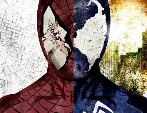 Spider-Man/Venom JuxtaposedbySean Anderson