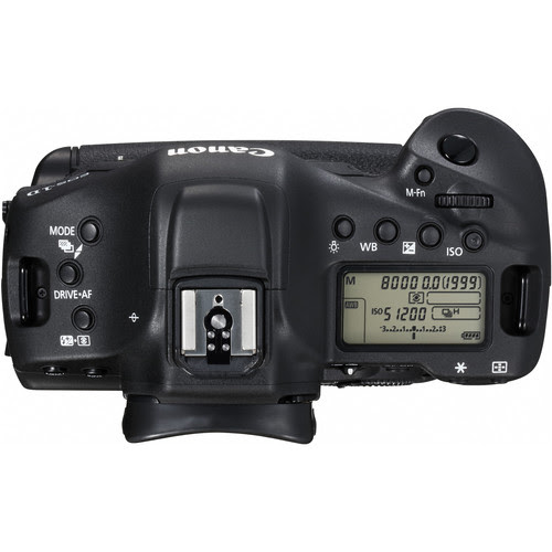 Canon EOS-1D X Mark II Top View