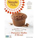 Simple Mills Gluten Free Pumpkin Muffin & Bread Almond Flour Baking Mix - 9oz
