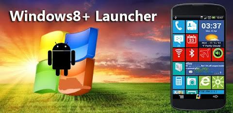 صور لانشر وندوز الأسطوري للاندرويد Windows 8 Launcher v2.3