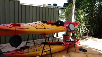 Perception Carolina 12 sit in Touring/Sea Kayak with paddle | Kayaks & Paddle | Gumtree Australia Port Adelaide Area - Klemzig | 1101194018