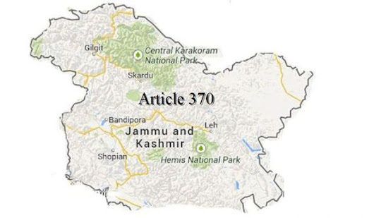Article 370 and Indian Politics