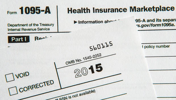 IRS Form 1095 Relating to Health Insurance