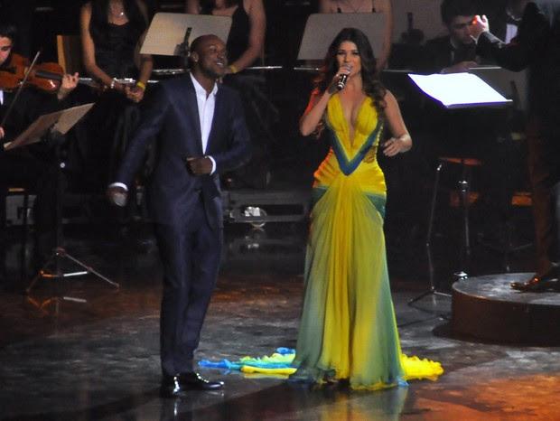 Paula Fernandes e Thiaguinho (Foto: Roberto Teixeira/ EGO)