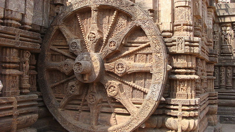 File:Chariot Wheel Konark Sun Temple.JPG