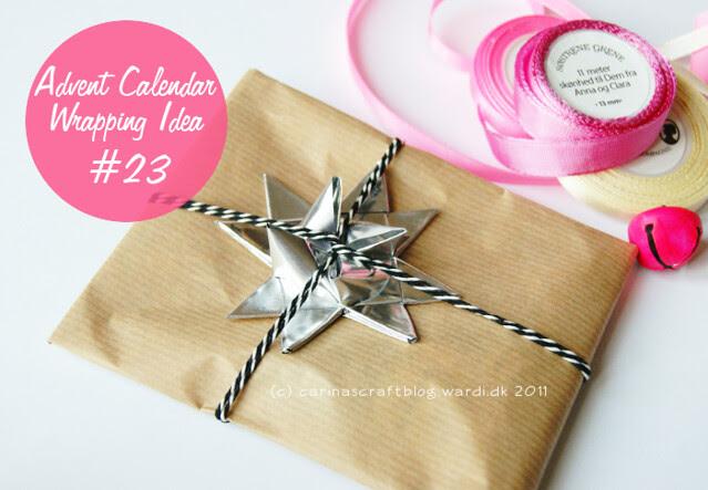 Advent Calendar Wrapping Idea #23