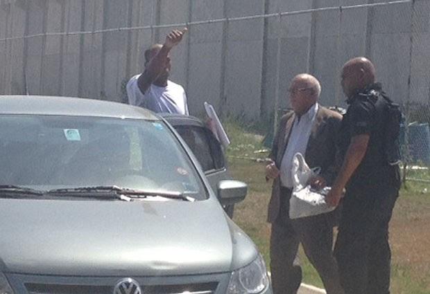 Vinícius Romão de Souza, de 26 anos, foi solto nesta quarta-feira (26), após 16 dias detido por engano. (Foto: Guilherme Brito / G1)