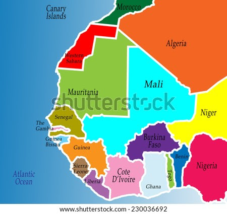 West Africa Stock Images Royalty Free Images Vectors