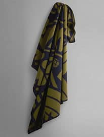 Graphic Blanket Scarf