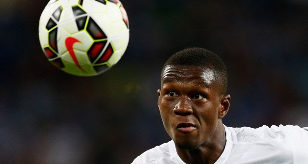 Racing Genk defender  Christian Kabasele has been called up into the Belgium squad ahead of Euro 2016. Photograph:  Dean Mouhtaropoulos/Getty Images