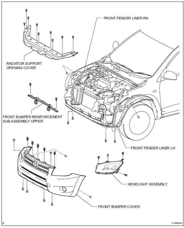 Toyota Rav4 Front Suspension Diagram