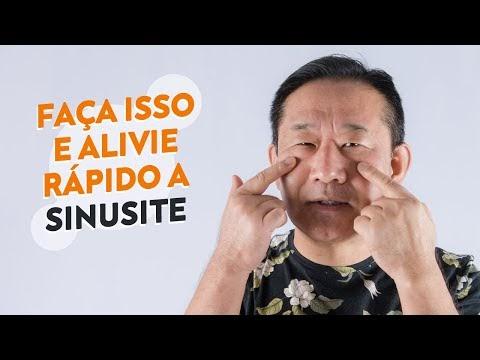 ALIVIAR SINUSITE APERTANDO POR 30 SEGUNDOS ESSES PONTOS | Dr. Peter Liu
