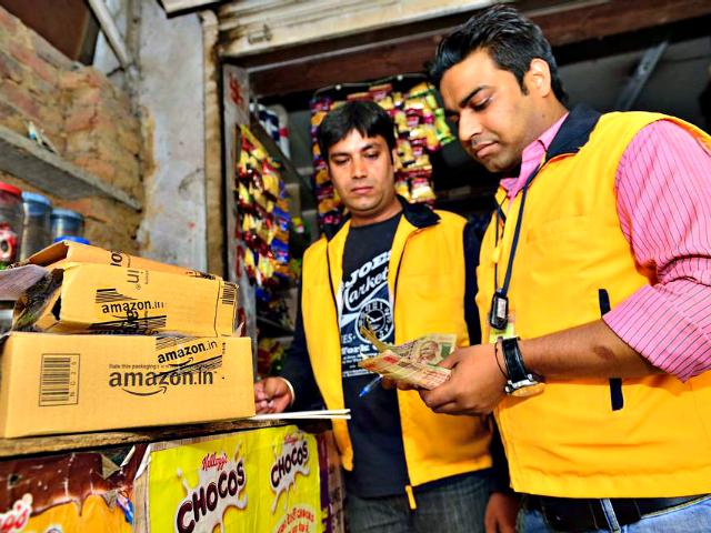 Amazon Indian Workers