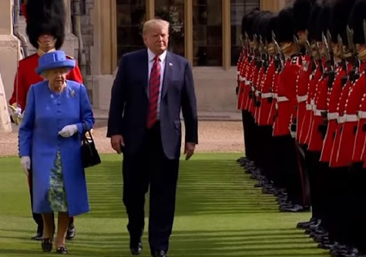 Trump 'insults' Queen Elizabeth II: Late for tea, refuses to bow, walks in front; Twitter bashes US President
