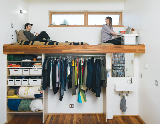 Slideshow: 7 Clever Loft Spaces for Small Places | Dwell