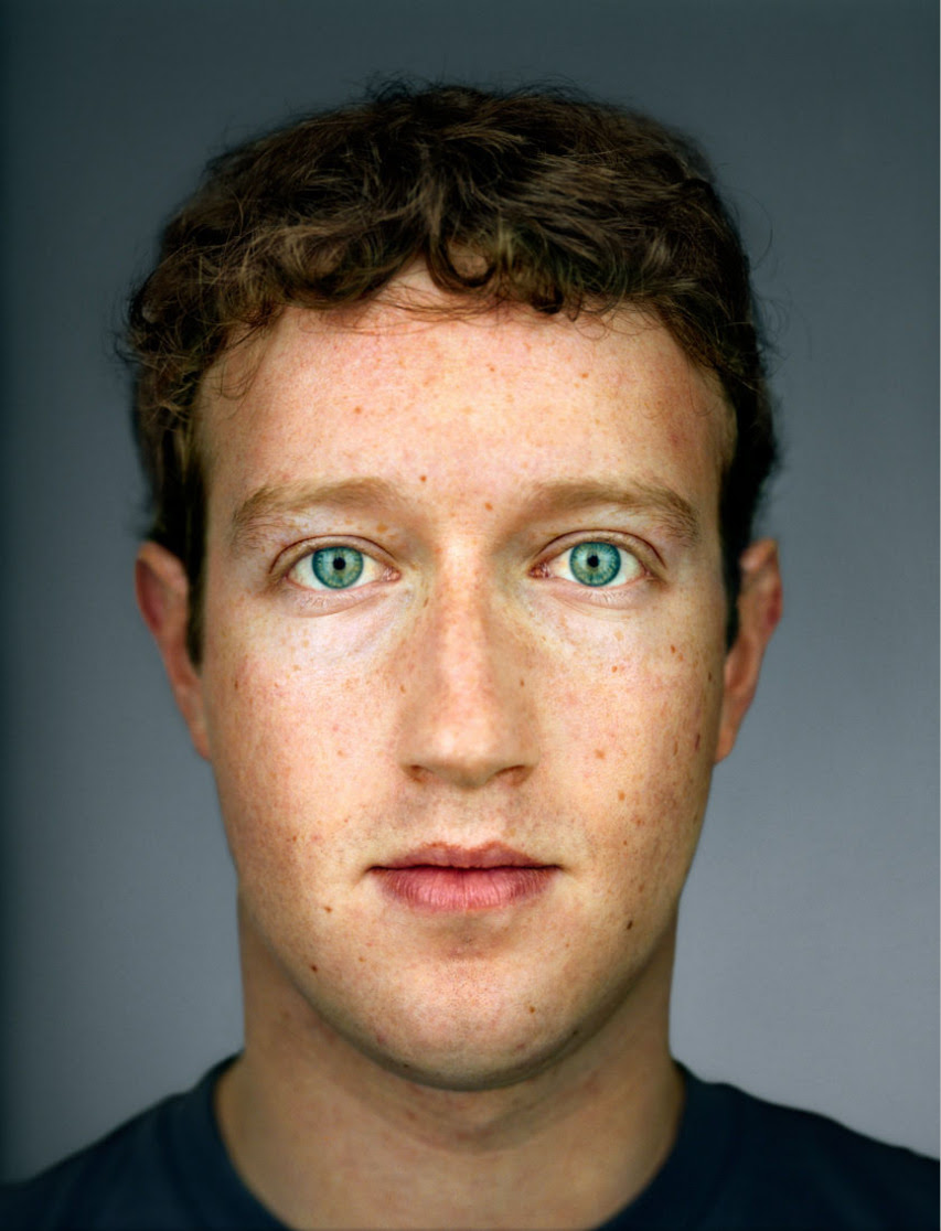 Mark Zuckerberg by Martin Schoeller