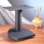 VTI DFC19 Cast Iron Center Channel Speaker Stand (19 inch Black)