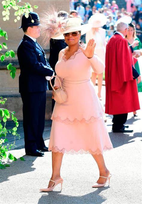 Oprah arrives at British royal wedding ahead   Independent.ie