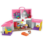 Fisher-Price FIPFWX12 Little People Big Helpers Home Pink