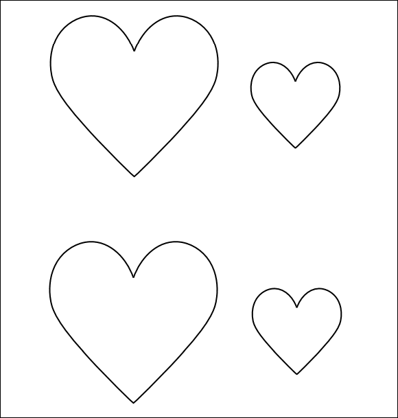 Heart Templates - Download Free Documents in PDF , Word , PSD
