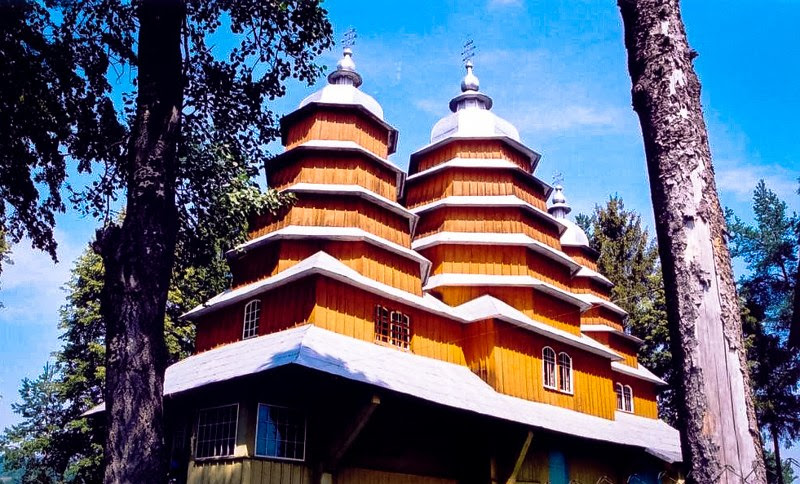 Tserkvas de madera UNESCO