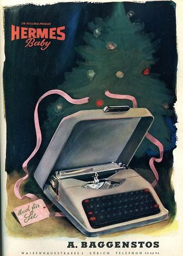 Du 1944-12 Weihnachten Hermes Baby